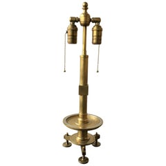 Bronze Surveyors Style Table Lamp