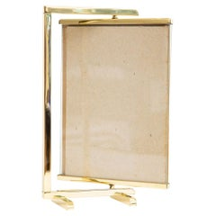 Bronze Swivel Double Sided Picture Frame Mid-Century Modern