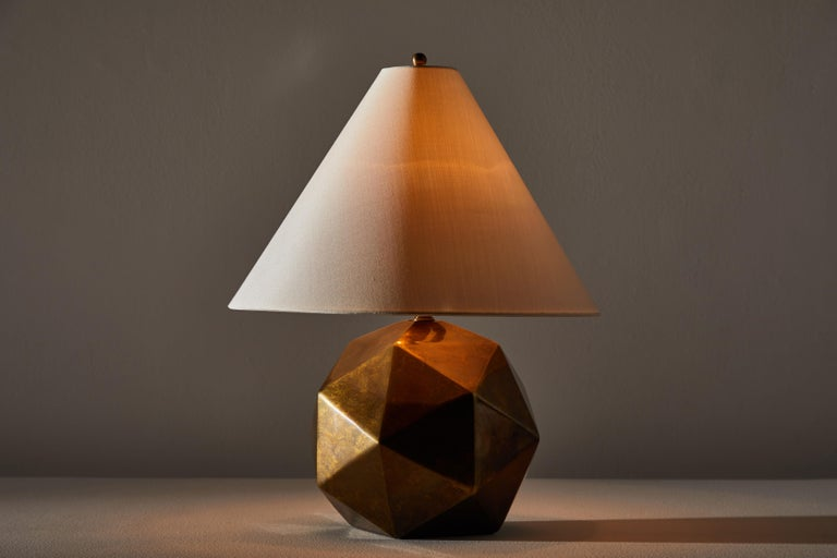 Mid-Century Modern Bronze Table Lamp For Sale