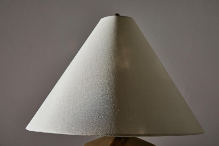 Bronze Table Lamp In Good Condition For Sale In Los Angeles, CA