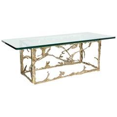 """Bronze Tendrils"" Coffee Table, by Silas Seandel"