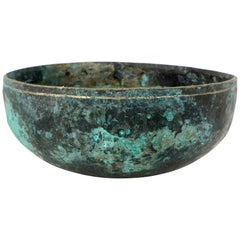 Bronze Tibetan Singing Bowl, circa 1860