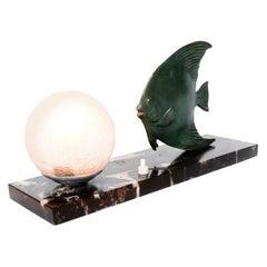 Bronze Tropical Fish Lamp