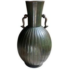 Bronze Vase by GAB