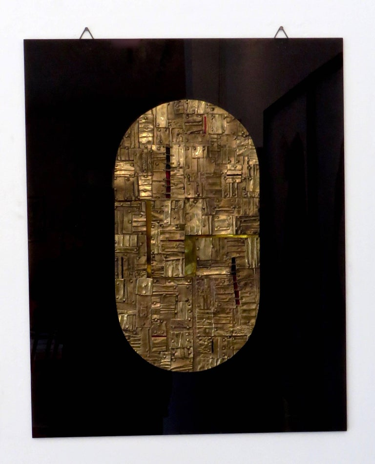 Bronze Wall Painting Sculptures by Esa Fedrigolli Italy 1985 Signed Numbered For Sale 8