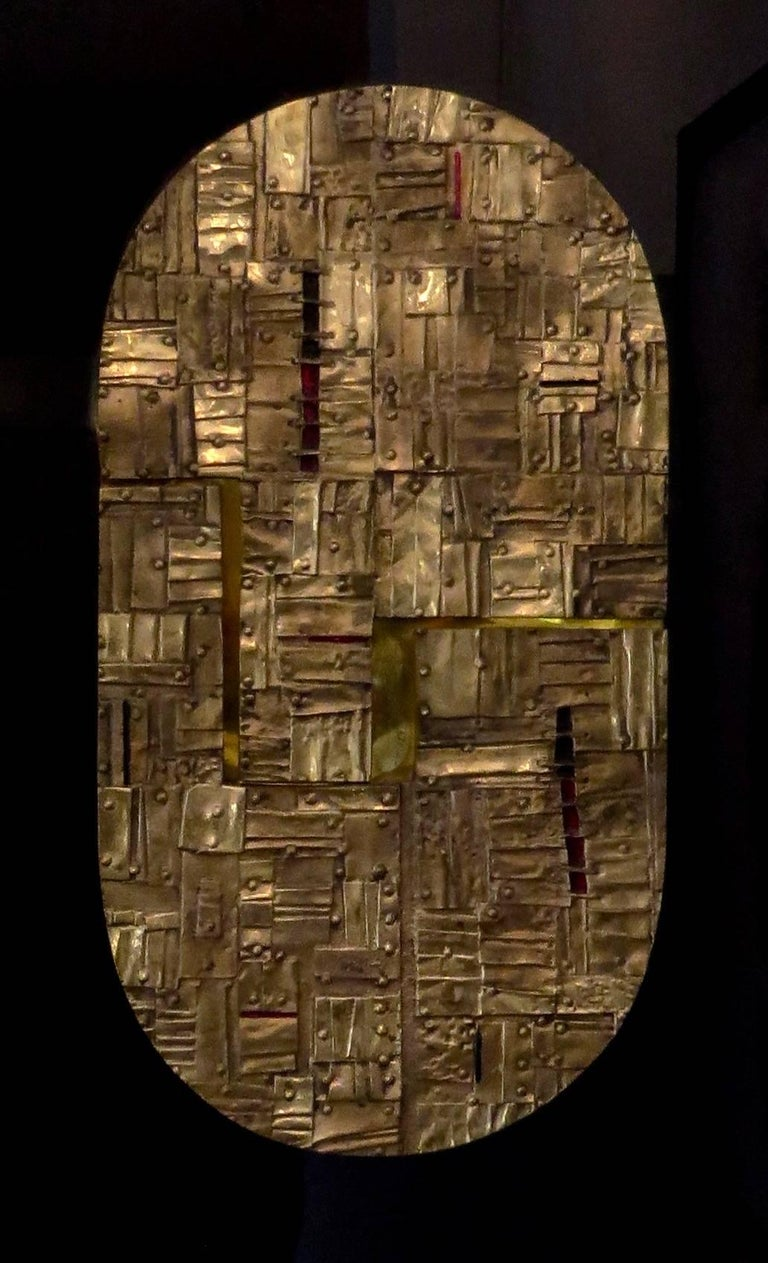 Bronze Wall Painting Sculptures by Esa Fedrigolli Italy 1985 Signed Numbered For Sale 9