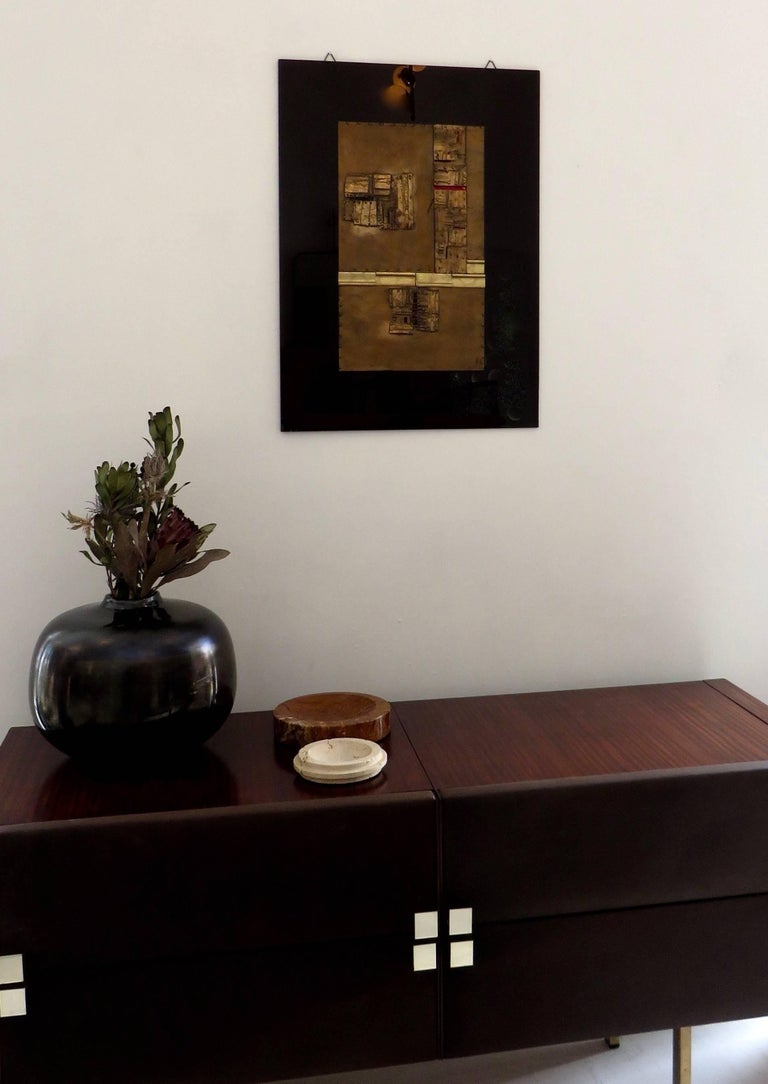 Bronze Wall Painting Sculptures by Esa Fedrigolli Italy 1985 Signed Numbered For Sale 13