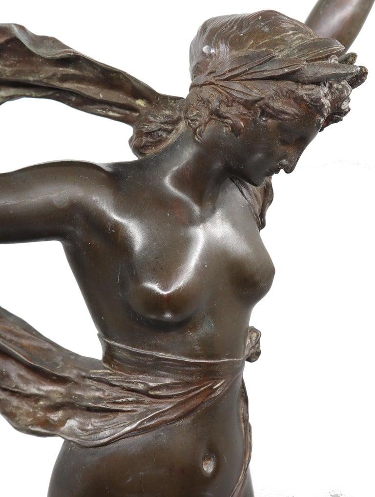 Bronze sculpture - Edouard Drouot: