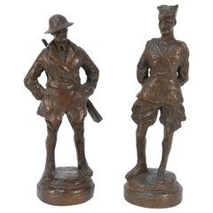Bronze WWI Doughboy Sculptures