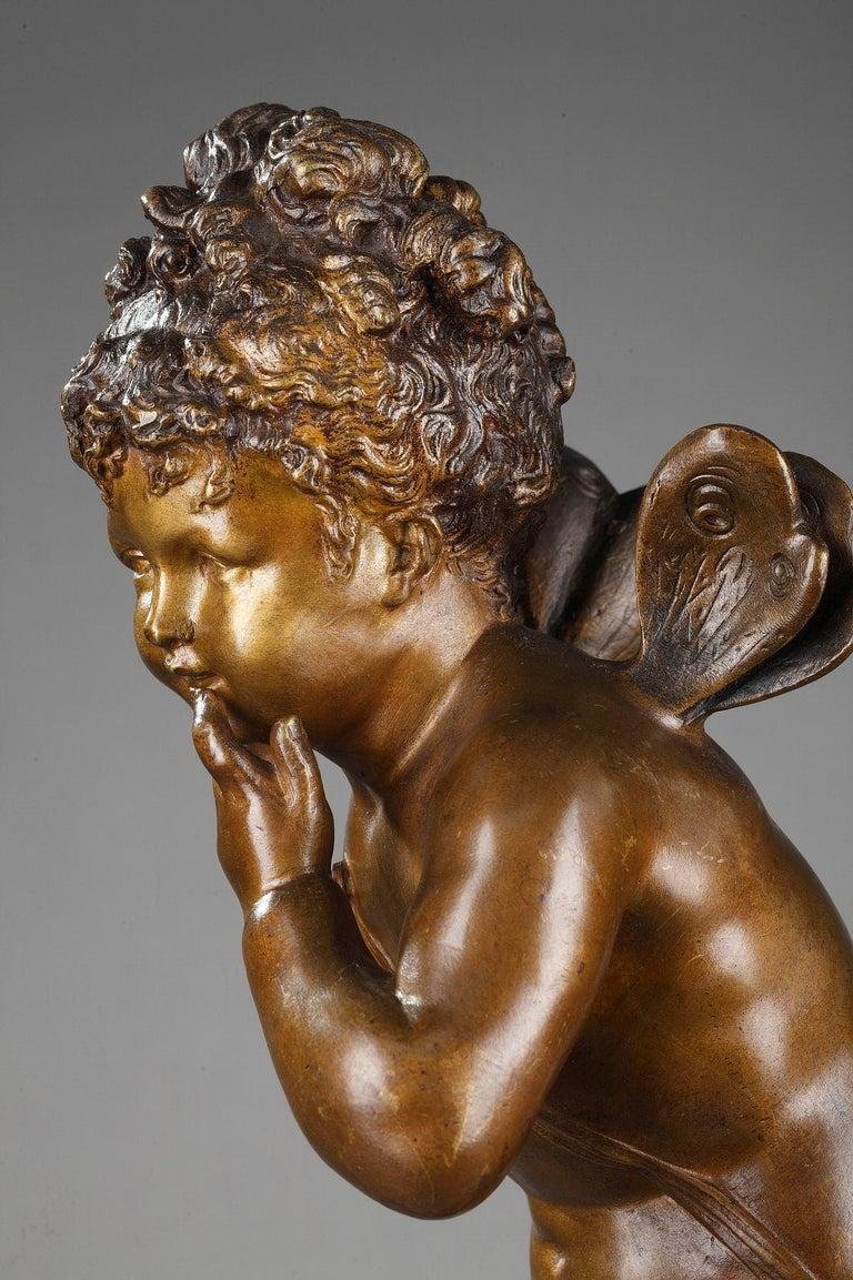 Bronze Figure of Young Psyche by Paul Duboy For Sale 4