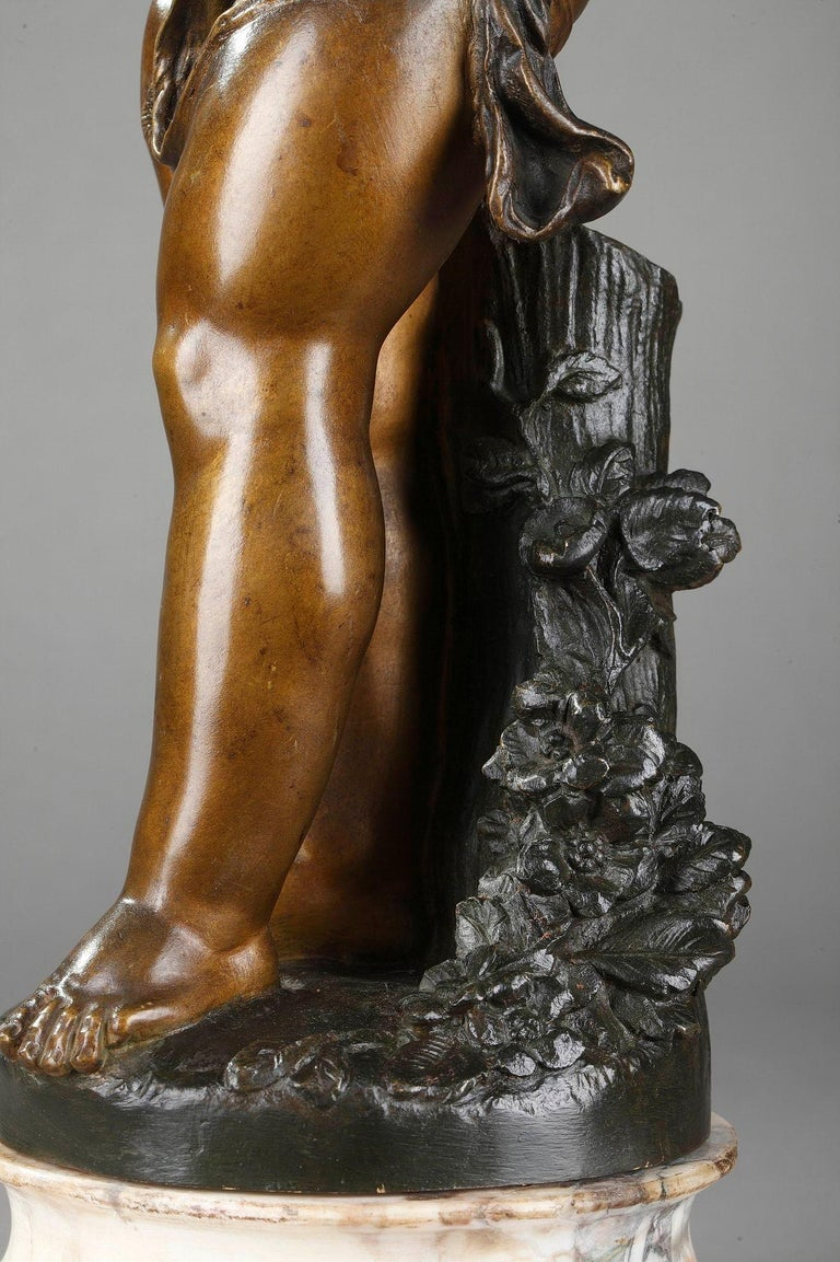 Bronze Figure of Young Psyche by Paul Duboy For Sale 6
