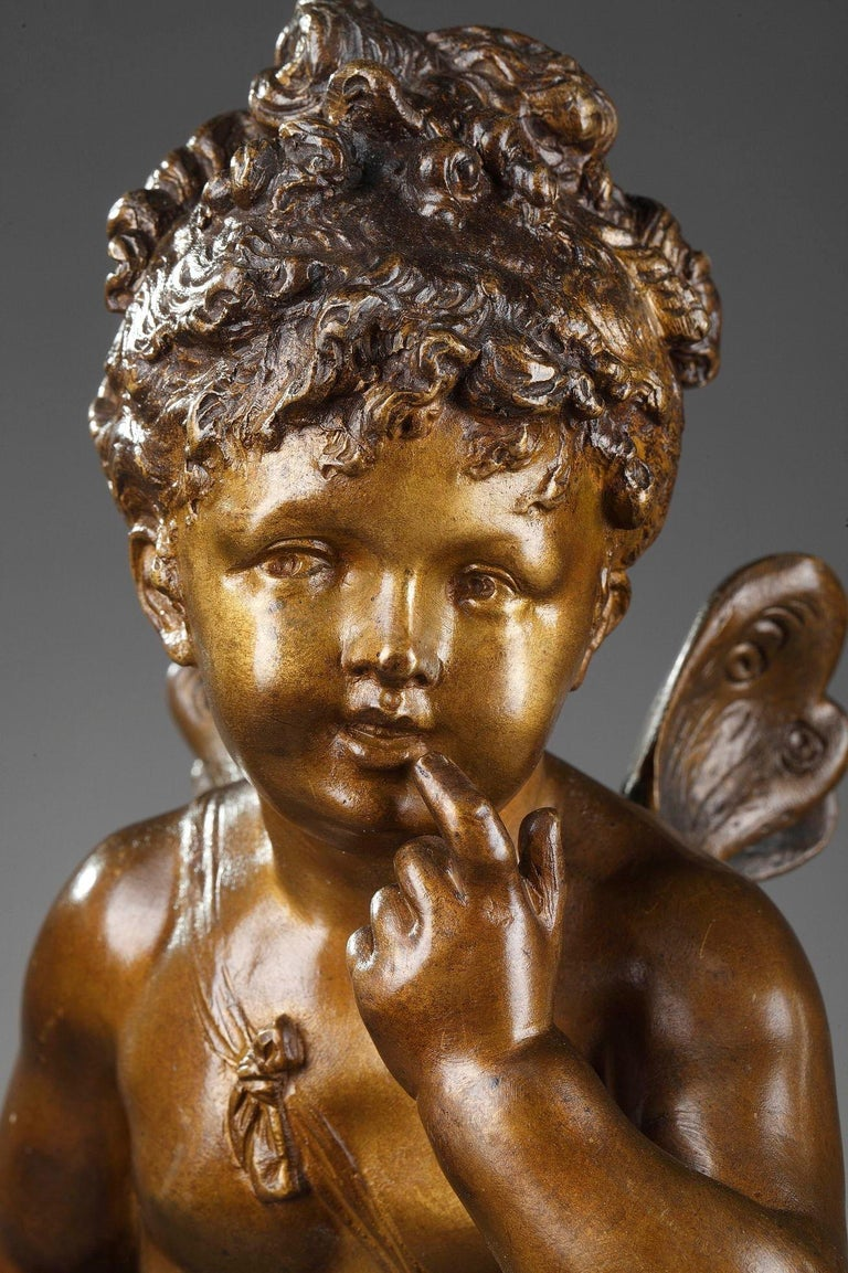Bronze Figure of Young Psyche by Paul Duboy For Sale 8