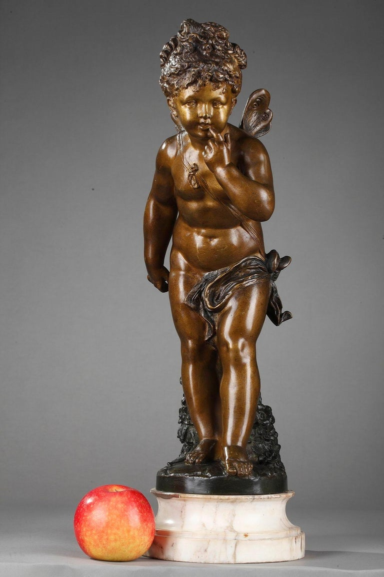 Bronze Figure of Young Psyche by Paul Duboy For Sale 9