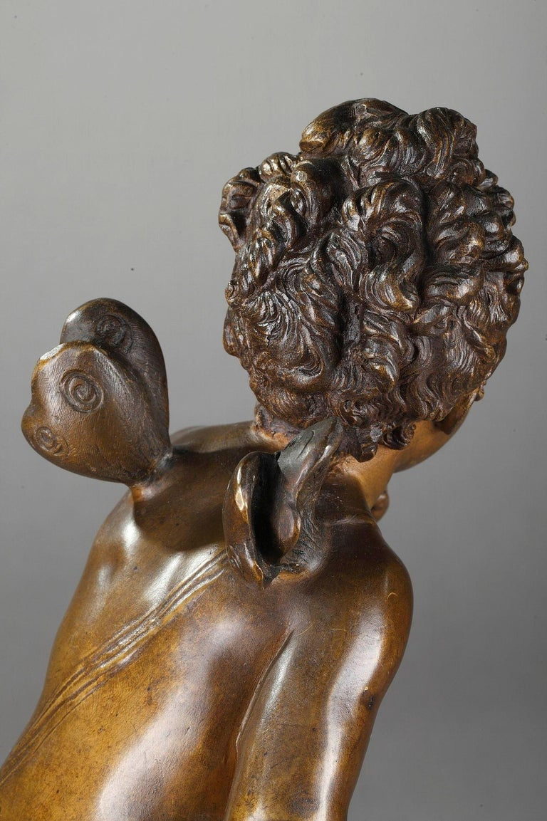 Bronze Figure of Young Psyche by Paul Duboy For Sale 2