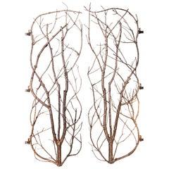 Bronzed Branch Door Created by Atelier Boucquet