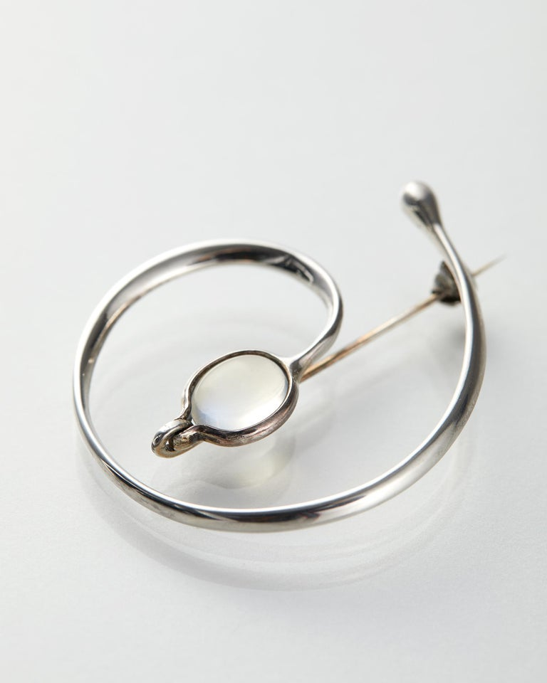 Modern Brooch Designed by Torun Bülow-Hübe, Denmark, 1950s For Sale