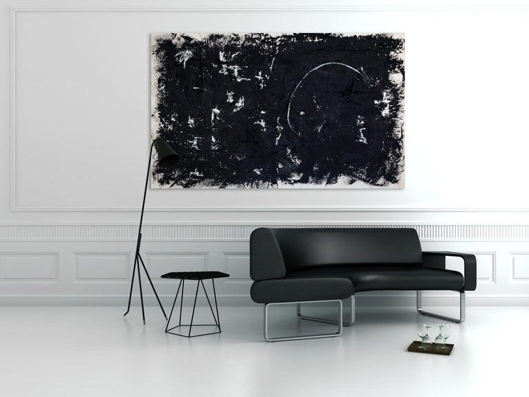 Solstice 2 (Abstract painting) - Painting by Brooke Noel Morgan
