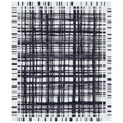 Brookfield Ink Hand-Knotted Wool and Silk 10 x 13ft Rug