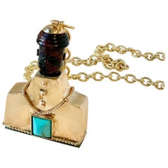 BrooklaMoor Pendant and Chain by L'Enchanteur