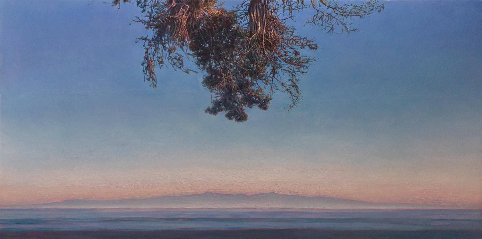 GRAVITAS / 4x8 feet, breathtaking contemporary realist painting