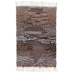 Brown and Gray Moroccan Style Customized Rug