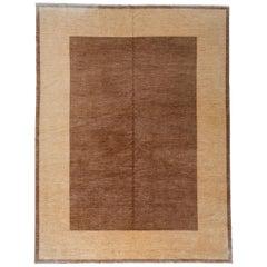Brown and Tan Area Rug