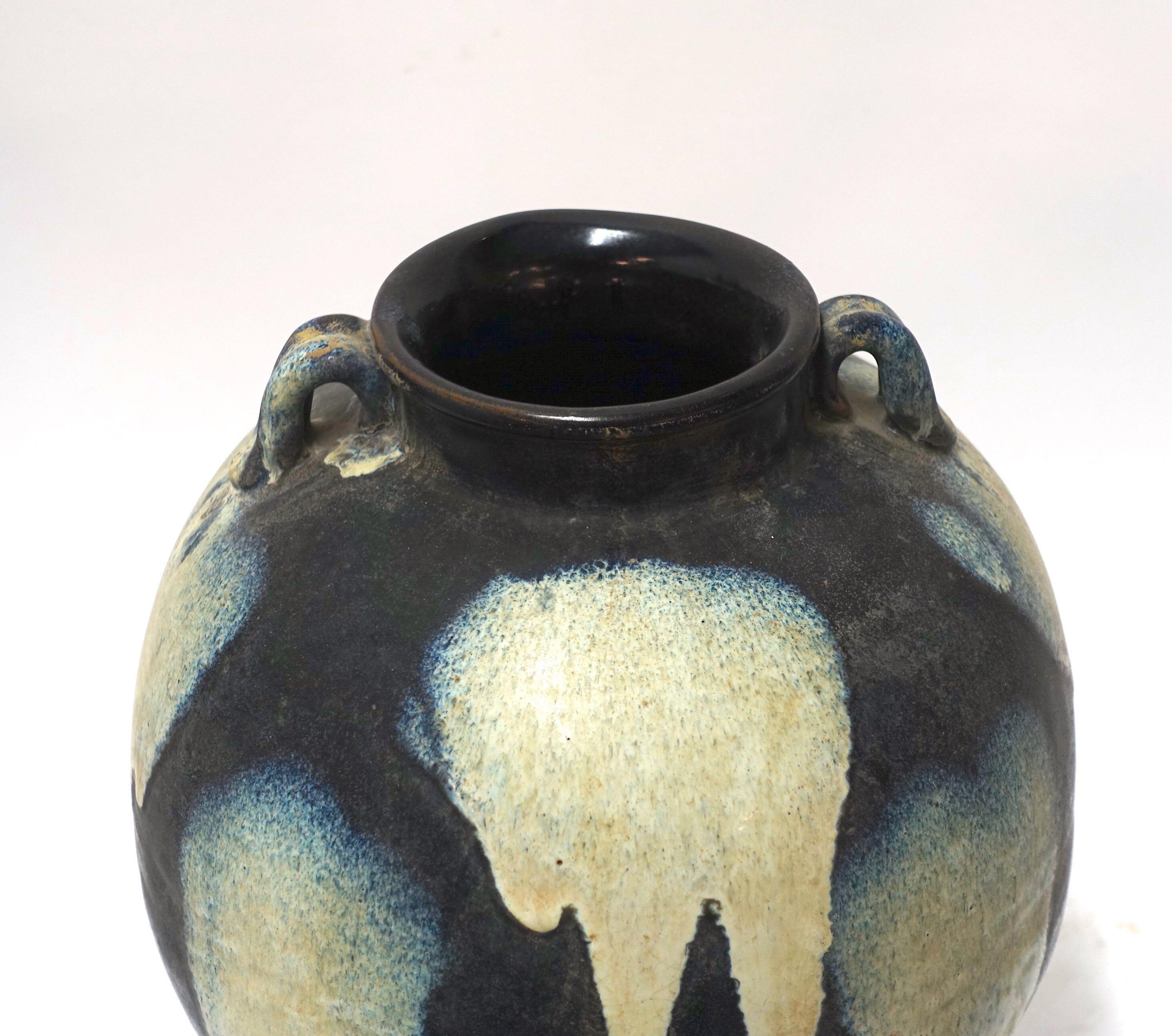 Zwei Große Bodenvasen Vase China Um 1940 Vitrinenobjekte / Objets D'art
