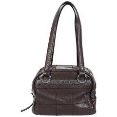 Brown Chanel Leather Shoulder Bag