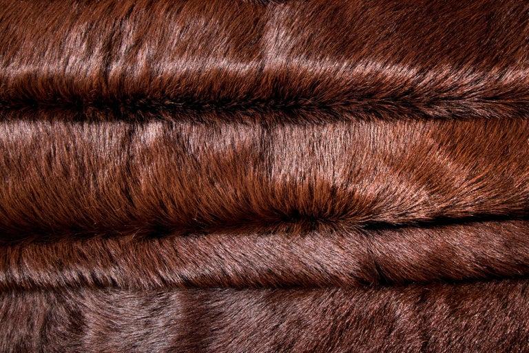 Adirondack Brown Cowhide Rug For Sale