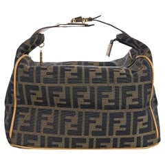 Fendi Brown Zucca Monogram Handbag