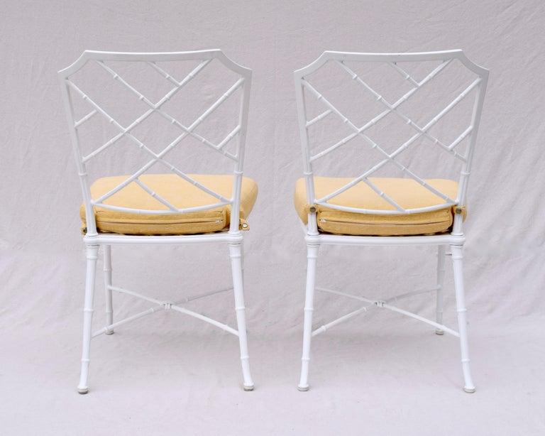 Brown Jordan Calcutta Faux Bamboo Dining Table & Six Chairs 3