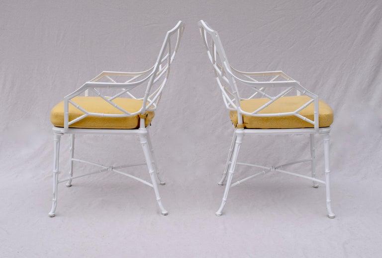 Brown Jordan Calcutta Faux Bamboo Dining Table & Six Chairs 4