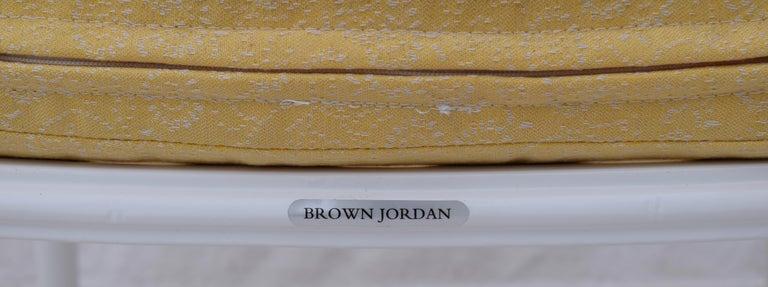 Brown Jordan Calcutta Faux Bamboo Dining Table & Six Chairs 5