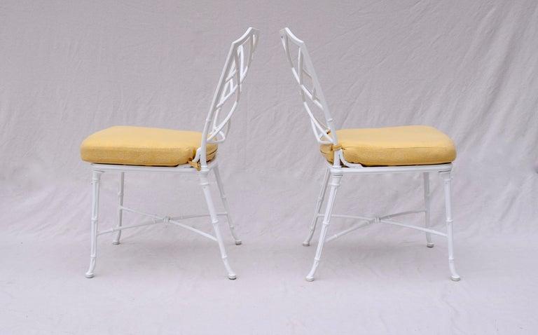 Brown Jordan Calcutta Faux Bamboo Dining Table & Six Chairs 1