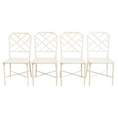 Brown Jordan Calcutta Faux Bamboo Garden Chairs