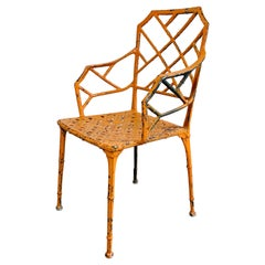 Brown Jordan Faux Bamboo Conservatory Chair