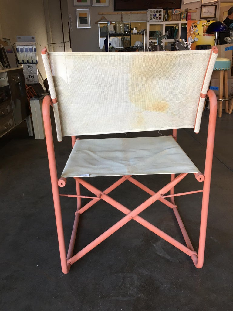 Brown Jordan Quot Nomad Quot Folding Patio Director Chairs And