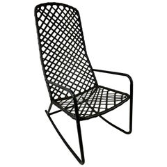 Brown Jordan Tamiami Metal Outdoor Rocking Chair