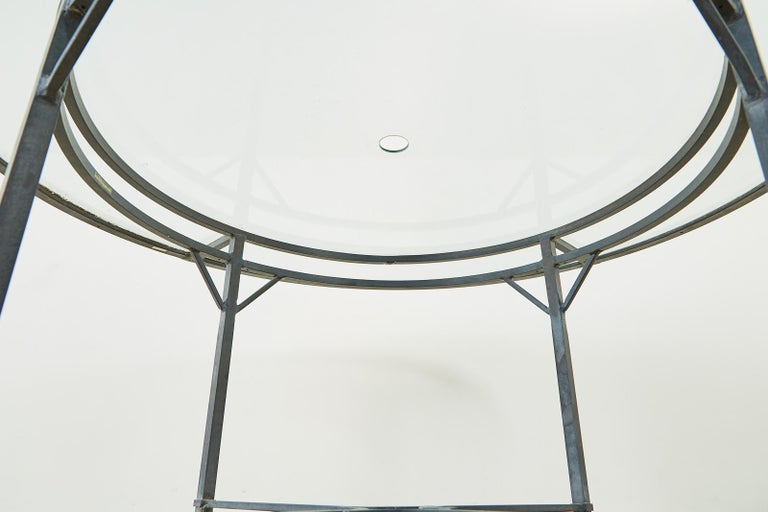 Brown Jordan Venetian Aluminum Patio Dining Tables 9