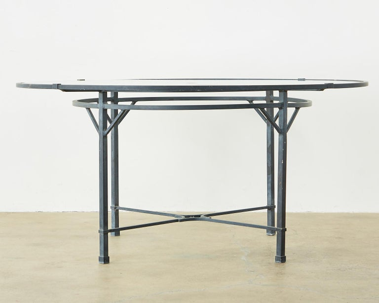 American Brown Jordan Venetian Aluminum Patio Dining Tables
