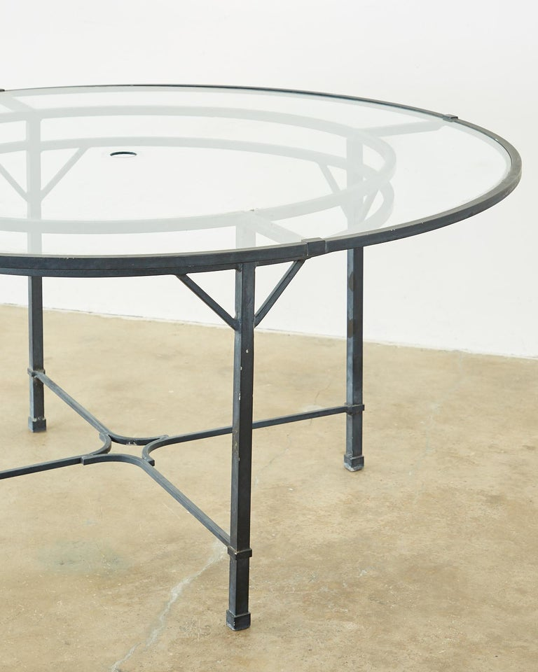 Brown Jordan Venetian Aluminum Patio Dining Tables 1