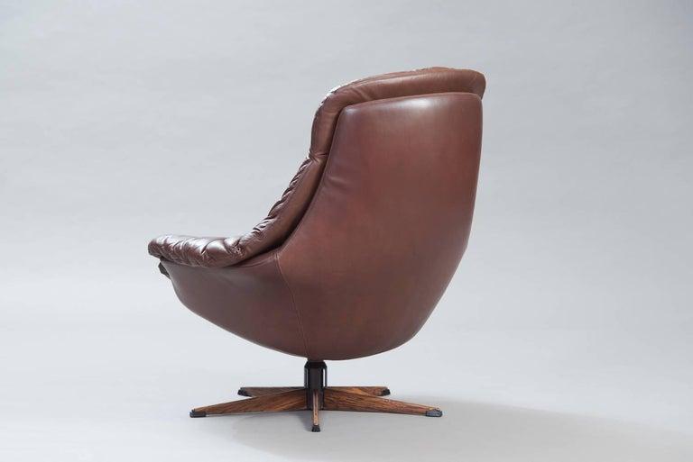 Danish Brown Leather