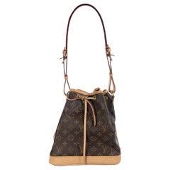 Brown Louis Vuitton Monogram Noe Bucket Bag