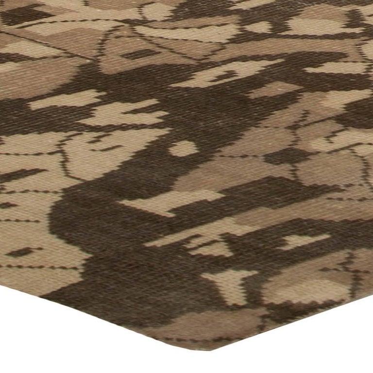 Contemporary Brown Miraje Design Rug For Sale
