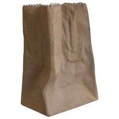 Brown Paper Bag Porcelain Vase by Tapio Wirkkala Rosenthal Studio Line Germany