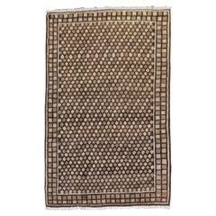 Brown Persian Deco Rug