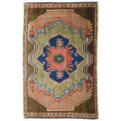 Brown Persian Senneh Rug Mat