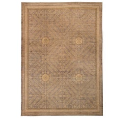 Brown Samarkand Design Rug