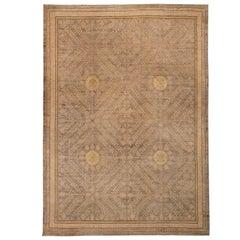 Brown Samarkand Design Rug