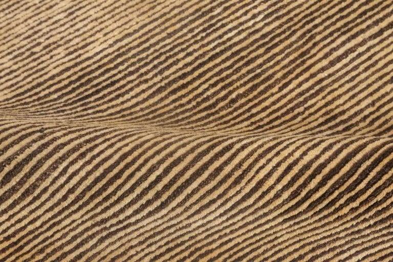 Modern Brown Stripes For Sale